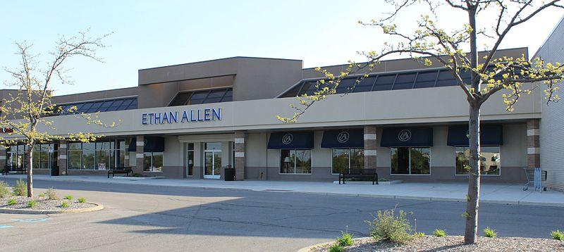 Ethan Allen store, Ann Arbor, MI