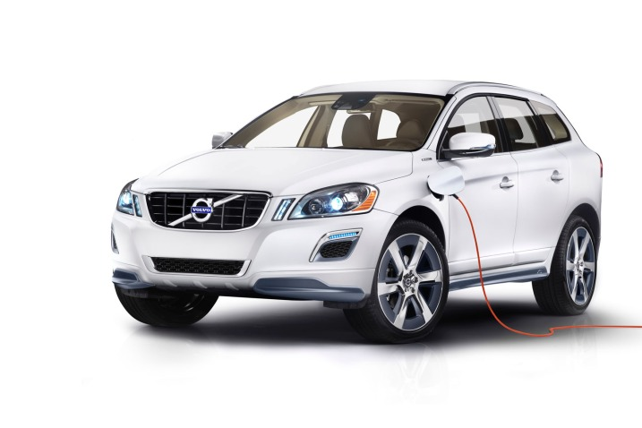 The Volvo 2012 XC60 Plug-in Diesel Hybrid Was Highlighted in Detroit Recently - Image from Google