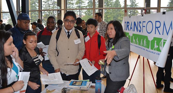 High-schoolers explore green careers at campus fair - U S  Green