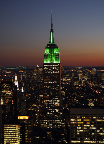 Green Empire State Building for Sale