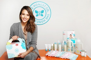 Actress Jessica Alba Recently Launched The Honest Company, a Green Home Products Business - Image from PandoDaily.com