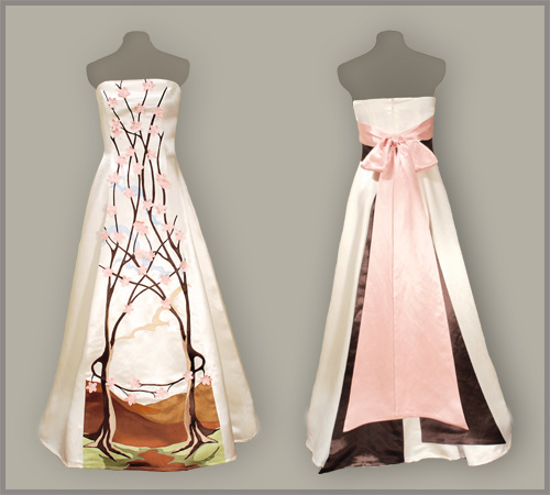 Eco Fashion Trend of the Week: Green Bridal Gowns