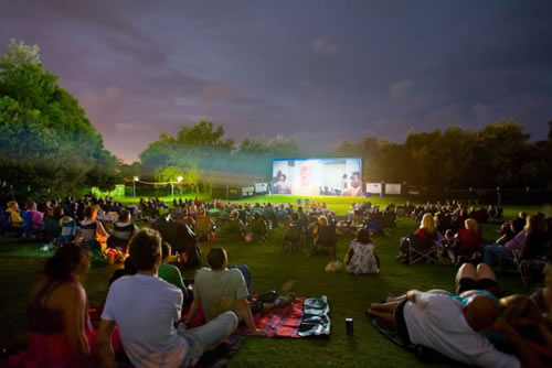 Call To Green Action Open Air Cinema For Alsip Park