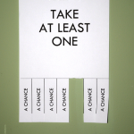 Take Several Chances Today by Going Green - Image from smartactors.com