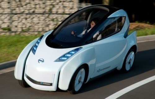 Nissan Designing New Urban Personal Electric Transporter