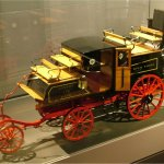 Model of a Gurney steam carriage
