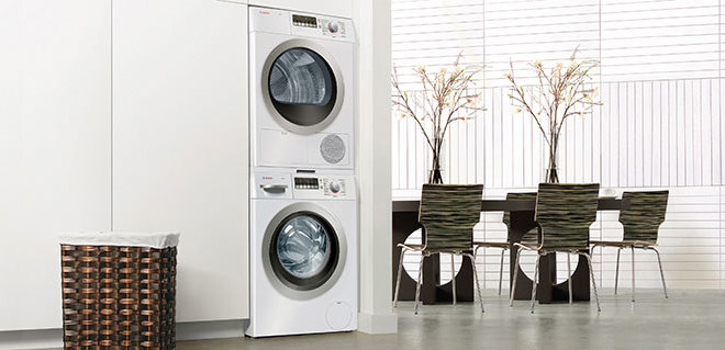 sears stackable washer dryer units on modern home decoration