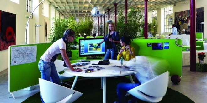 Eco-friendly, Green Workspace, Carbon Footprint