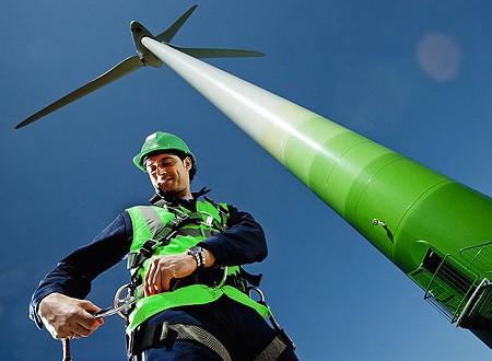 wind jobs, metal
