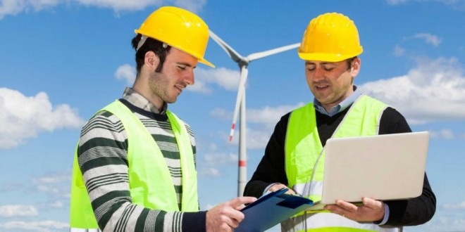 Solar jobs are perfect for engineers who want to break into the growing green industry. (Photo from: http://www.chron.com/jobs/article/There-is-bright-future-for-alternative-energy-5449268.php)