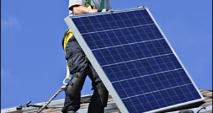 Solar jobs are some of the fastest-growing energy jobs in the United States. (Image from https://www.osha.gov/dep/greenjobs/solar_falls.html)