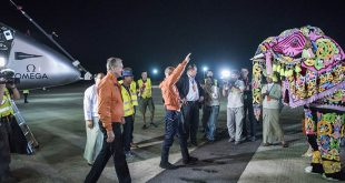 Solar Impulse touched down in Mandalay as part of leg four of its round-the-world journey. (Image from http://www.solarimpulse.com/leg-4-from-Varanasi-to-Mandalay)