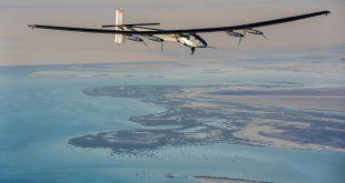 Solar Impulse 2 made its flight from Seville to Cairo. (Image from http://www.solarimpulse.com/leg-16-from-Seville-to-Cairo)