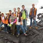 Geology jobs play a major role in protecting our future. (Image from https://grad.ucla.edu/wp-content/uploads/2015/08/ucla-prestige-earth-space-sciences-team-in-hawaii.jpg)